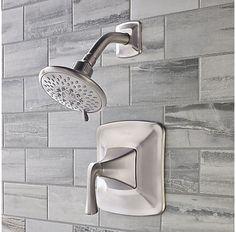 Brushed Nickel Selia 1-Handle Shower Only Faucet - 8P5-WSSLSK - 2