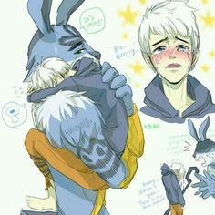 Rise of The Guardians Fanart [ Jack, Bunny, and the girl ] I forgot the girl's name Anyway everyone merry Christmas and happy new year! Rise of The Guardians - Jack, Bunny, and the girl Dark Jack Frost, Jack Frost And Elsa, Disney And Dreamworks, Disney Pixar, Disney Characters As Humans, Big Heroes, Jake Frost, Altean Lance, Manga Anime