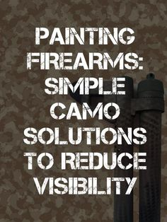 painting firearms pinterest