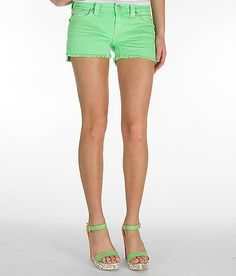 Miss Me Neon Stretch Short