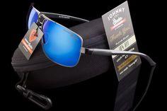 aaf05d16ef Johnny Shades Aluminum Executive Rectangle Sunglasses