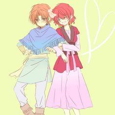 Yoon y Yona // Akatsuki no Yona