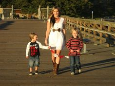 Mother & sons love pier seacliff beach California my funny valentines