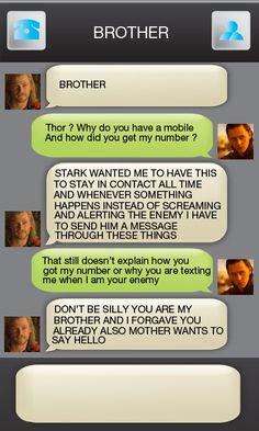 The Dumbrothers : Most Hilarious Thor Vs Loki Memes |Funny Thor And Loki Text