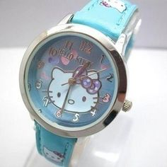 Hello Kitty baby blue Watch