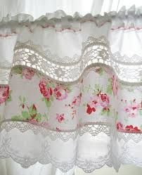 Image Result For Upcycle Plain Kitchen Curtains Shabby Chic Bedroomcurtainsbaywindow