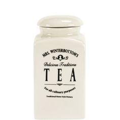 MRS. WINTERBOTTOM'S Teedose - Aufbewahrung