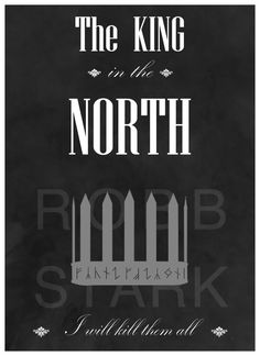 The King in the North poster by SiriusCrane on DeviantArt