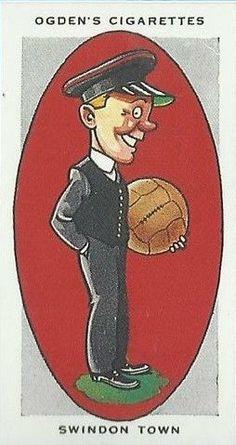 Swindon Town = The Railwaymen Football Cards, Football Team, Bristol Rovers, British Football, Association Football, Team Mascots, Most Popular Sports, Sports Logos, First Game