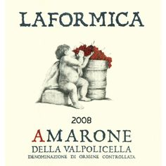 Loaded with Coccoa and sweet cherry flavors, Amarone is something people always enjoy and the Laformica is a producer That I think really brought some thunder in their '08 effort