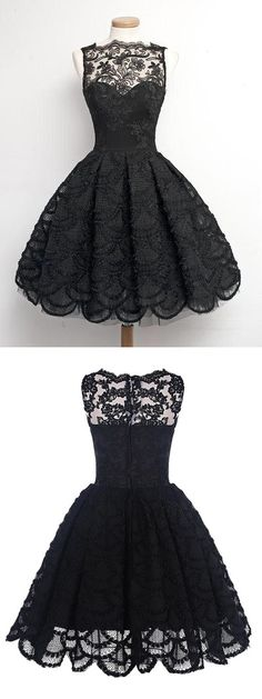 1950s vintage dress, vintage style homecoming dress, black homecoming dress…