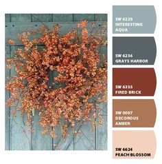 Upload a photo of something and Sherwin Williams creates a palette for you! And it's FREE! Paint colors from Chip It! by Sherwin-Williams
