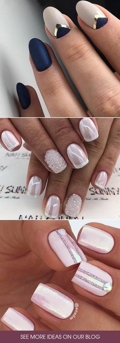 Homecoming nails may be of a different shape or color, but for sure they… - http://makeupaccesory.com/homecoming-nails-may-be-of-a-different-shape-or-color-but-for-sure-they-25/
