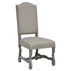 Casper Side Chair-Sand | Overstock.com Shopping - Great Deals on Kosas Collections Dining Chairs