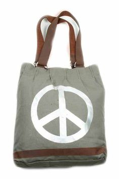 Tas Canvas Army Peace Fabric Tote Bags, Reusable Tote Bags, Surf Shack, Up Shoes, Hippie Chic, My Bags, Bag Making, Bag Accessories, Backpacks