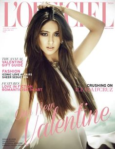 Ileana D'Cruz on The Cover of L'Official Magazine – February 2013.