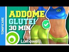 Addominali E Glutei Allenamento Di 30 Minuti - YouTube