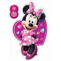 Uncle Milton Wall Friends, Minnie Mouse
