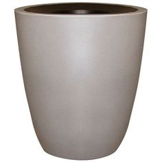 Alle Designs Top Open Receptacle Trash Can with Inner Liner Color: Black Walnut