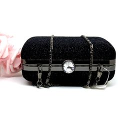 Bolsa de festa , Clutch Preta  99,90  Compras no site