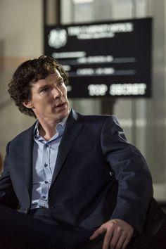 SHERLOCK (BBC) ~ Benedict Cumberbatch. S4 promo photo.