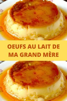 My Grandmother's Milk Eggs - All Recipes - délicieux pour tous - Desserts Pumpkin Cheesecake Recipes, Chocolate Cheesecake Recipes, Pumpkin Recipes, French Desserts, Easy Desserts, French Recipes, Chocolate Mousse Cake Filling, Desserts With Biscuits, Creme