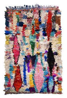 moroccan boucherouite rug(s)