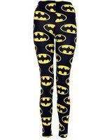 (womens full length batman leggings)(mtc) femmes batman jambières