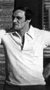 Rare picture of Anthony Rampino, reputed Gambino associate.
