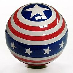 Check out the newest Clear Stars and Stripes Bowling ball. The detail on this Clear Stars and Stripes Bowling Ball is absolutely amazing.