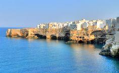 Polignano a Mare, province of  Bari, Italy.