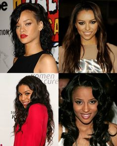 black hairstyles & beauty - african american haistyles #wavyhair  #updohair