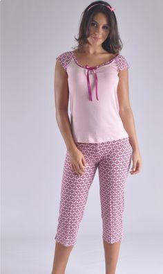 Pijama modera y juvenil clima caliente Colombia Cute Sleepwear, Lingerie Sleepwear, Nightwear, Night Suit, Night Gown, Pyjamas, Sexy Dresses, Fashion Dresses, Pijamas Women