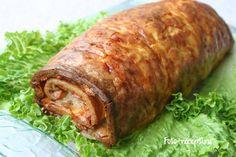 Яично-мясной рулет - Фото-рецепты пошагового приготовления