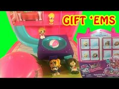 Surprise Toy Opening GIFT 'EMS HOTEL & SPA Playset + Blind Bags Series 1 Little Wishes Kids Video - YouTube