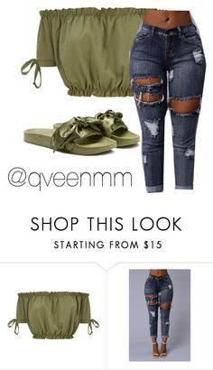 """""""Untitled #356"""" by qveenmm ❤ liked on Polyvore featuring Puma"""