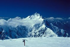 These are the Rakaposhi-Haramosh Mountains, Karakoram. Amongst the largest in the world, these mountains are a trekker's fantasy.
