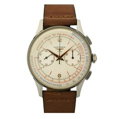 1stdibs - LONGINES Chronograph Stainless Steel 1960's explore items from 1,700  global dealers at 1stdibs.com