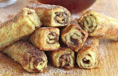 French Toast Roll Ups
