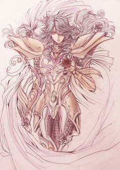 Gold Saint Pisces Aphrodite, Saint Seiya Legend of Sanctuary.