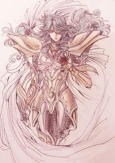 Gold Saint Pisces Aphrodite, Saint Seiya Legend of Sanctuary.
