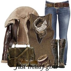 brownish winter outfit, Casual brownish outfits for winter  http://www.justtrendygirls.com/casual-brownish-outfits-for-winter/