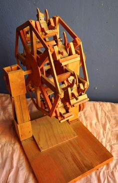 This is our kind of woodworking project!