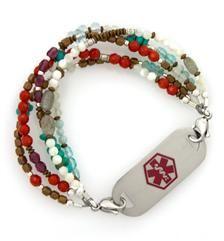 23 Best Beaded Medical Bracelets Images