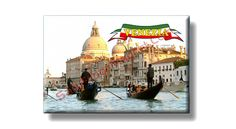 Fridge Magnet about Venezia