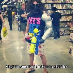 Captain America: The Summer Soldier XDD
