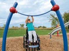 Playground Chin Up Bar for Children of All Abilities