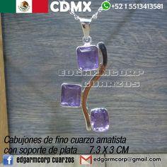 00d7af8d1395 Cuarzo Amatista - Ya tengo disponible para venta este hermoso centro de  collar hecho de 3