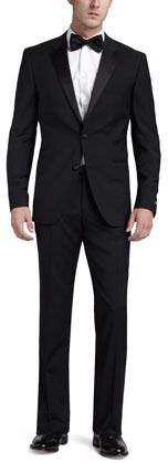 The Hugo Boss Stars/Glamour tuxedo updates timeless black tie style with a slim modern fit. Two-piece set. Satin piping and satin-covered buttons. two-button front. More Details Tuxedo Suit, Tuxedo For Men, Sharp Dressed Man, Well Dressed Men, Hugo Boss, Expensive Suits, Designer Suits For Men, Men Store, Glamour