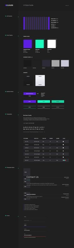 by Kamil Bachanek – corporate style Corporate Style, Corporate Design, Branding Design, Web Style Guide, Style Guides, Web Layout, Layout Design, Design Design, Conception D'interface